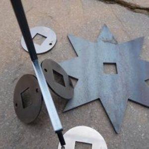 Frames, Metal Shafts and Bearings