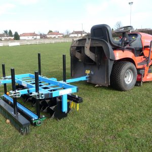 Towed pitch Groomer
